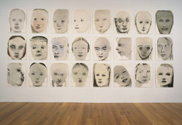 Marlene Dumas. *Chlorosis (Love sick).* 1994. Ink, gouache, and synthetic polymer paint on paper, each sheet: 26 × 19 1/2″ (66.2 × 49.5 cm). The Herbert and Nannette Rothschild Memorial Fund in memory of Judith Rothschild. © 2016 Marlene Dumas