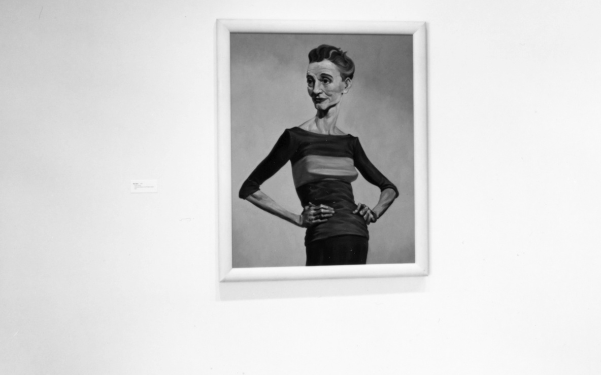 Installation view of *Projects 60: John Currin, Elizabeth Peyton, Luc Tuymans* at The Museum of Modern Art, New York