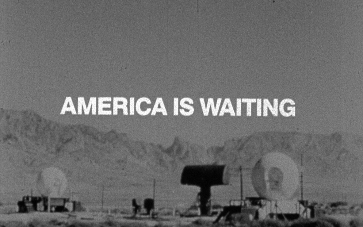 Bruce Conner. AMERICA IS WAITING.