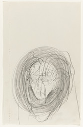 Joseph Beuys. *Untitled.* 1974. Pencil on paper, 8 1/2 × 5 3/8″ (21.6 × 13.7 cm). Gift of the artist. © 2016 Artists Rights Society (ARS), New York / VG Bild-Kunst, Bonn