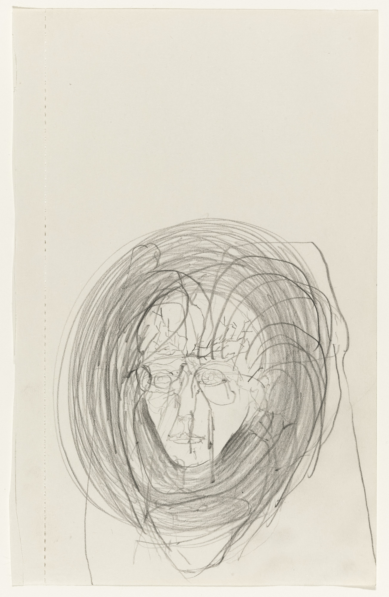 Joseph Beuys. Untitled. 1974. Pencil on paper, 8 1⁄2 × 5 3/8″ (21.6 × 13.7 cm). Gift of the artist. © 2016 Artists Rights Society (ARS), New York / VG Bild-Kunst, Bonn