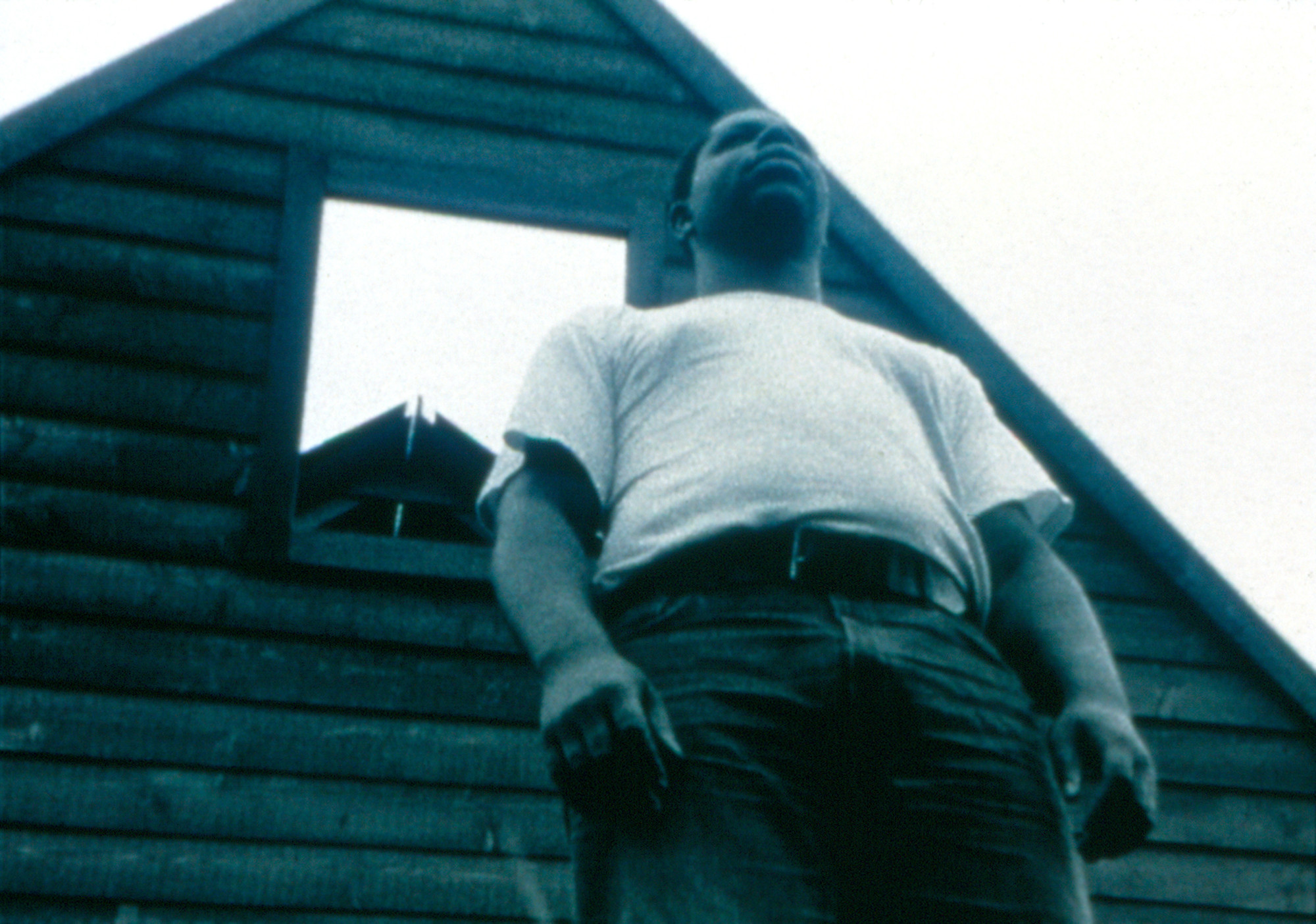 Steve McQueen. Deadpan. 1997. 16mm film transferred to video (black and white, silent). Fractional and promised gift of Thea Westreich and Ethan Wagner. © 2016 Steve McQueen. Used by permission