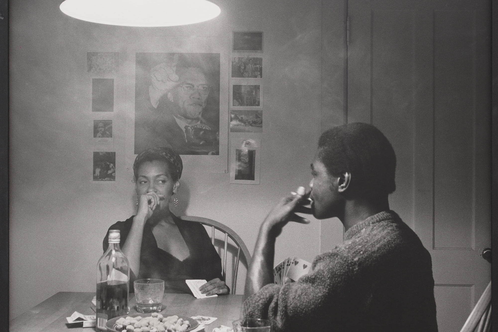 Carrie Mae Weems. Untitled (Man smoking). 1990. Gelatin silver print, 27 3/16 × 27 1/16″ (69 × 68.8 cm). The Family of Man Fund. © 2016 Carrie Mae Weems