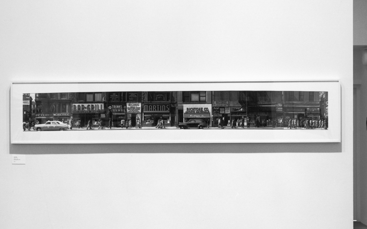 Installation view of *Mean Streets: American Photography from the Collection, 1940s–1980s* at The Museum of Modern Art, New York. Photo: Katherine Keller