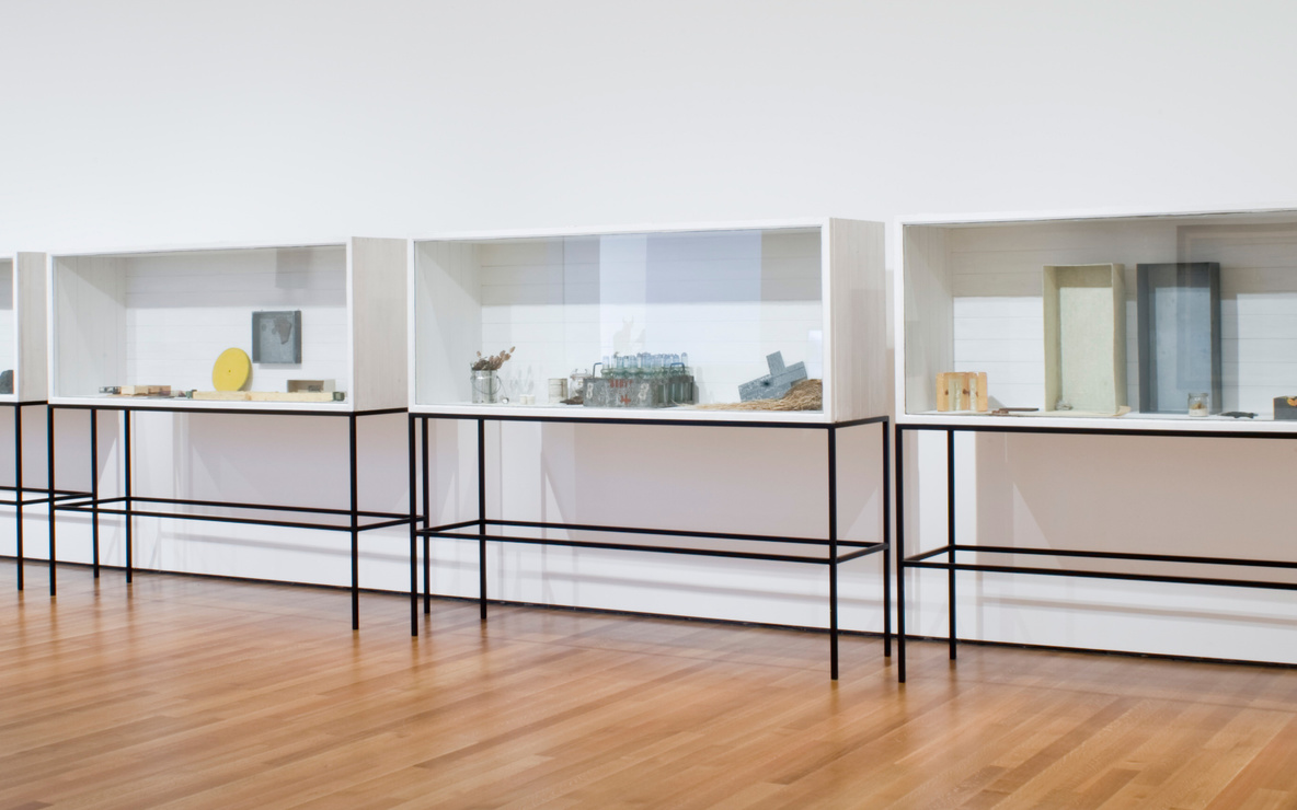 Installation view of *Focus: Joseph Beuys* at The Museum of Modern Art, New York. Photo: John Wronn