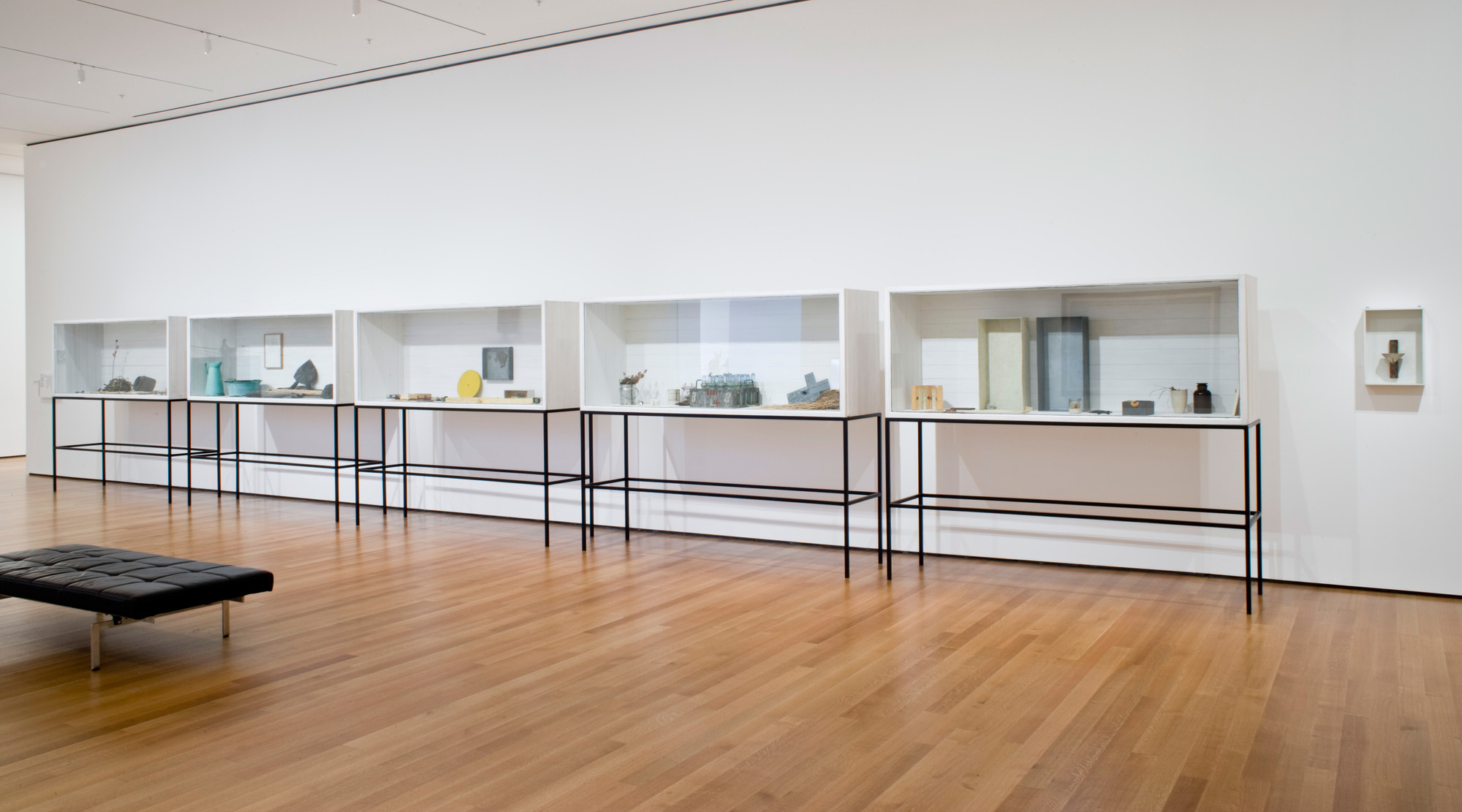 Installation view of Focus: Joseph Beuys at The Museum of Modern Art, New York. Photo: John Wronn