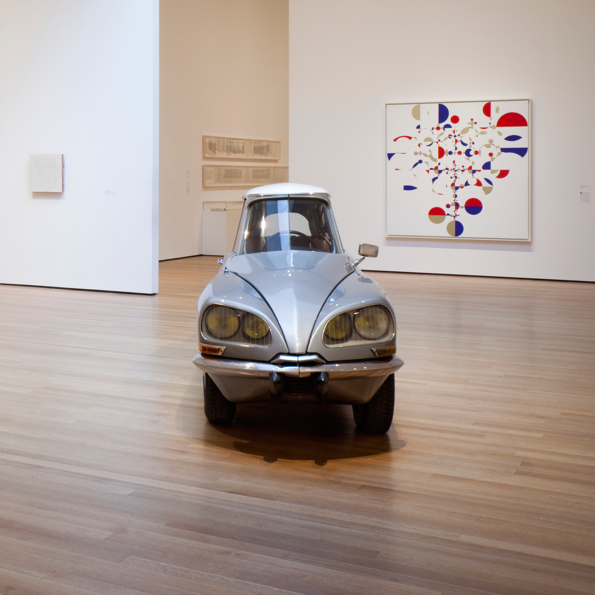 Installation view of Gabriel Orozco at The Museum of Modern Art, New York. Photo: Jonathan Muzikar