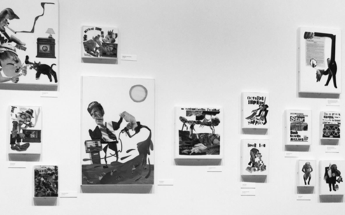 Installation view of *Projects 35: Stephen Kroninger* at The Museum of Modern Art, New York. Photo: Mali Olatunji