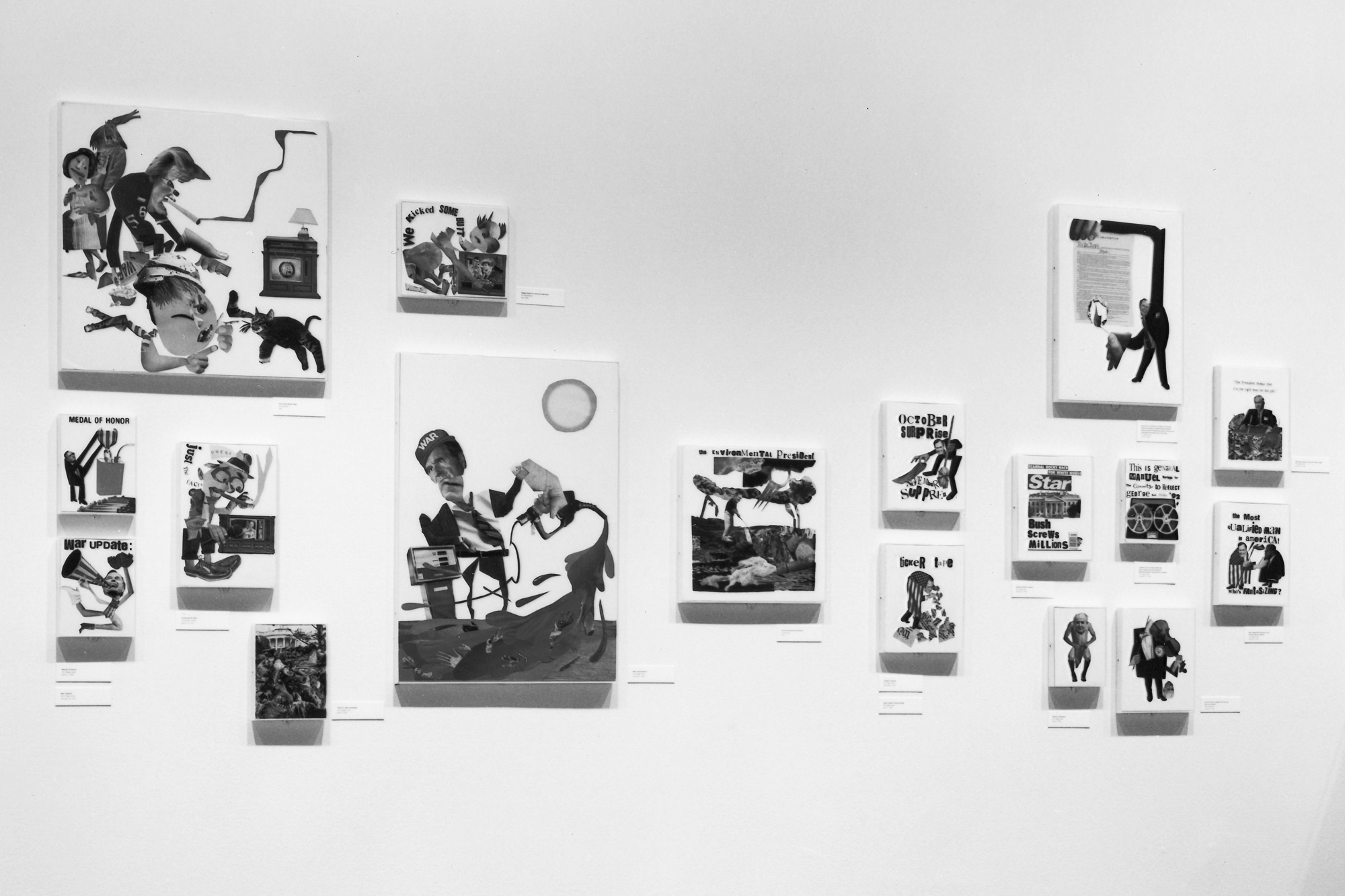 Installation view of Projects 35: Stephen Kroninger at The Museum of Modern Art, New York. Photo: Mali Olatunji