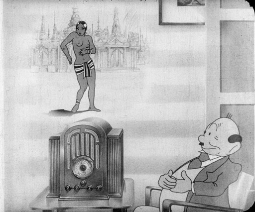 Radio RCA. c. 1935. Spain. Directed by Enrique Ferrán