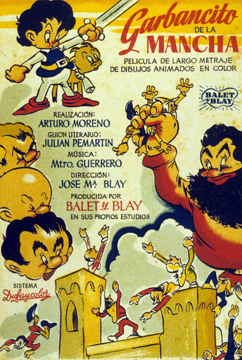 Garbancito de la Mancha (Knight Garbancito). 1945. Spain. Directed by Arturo Moreno