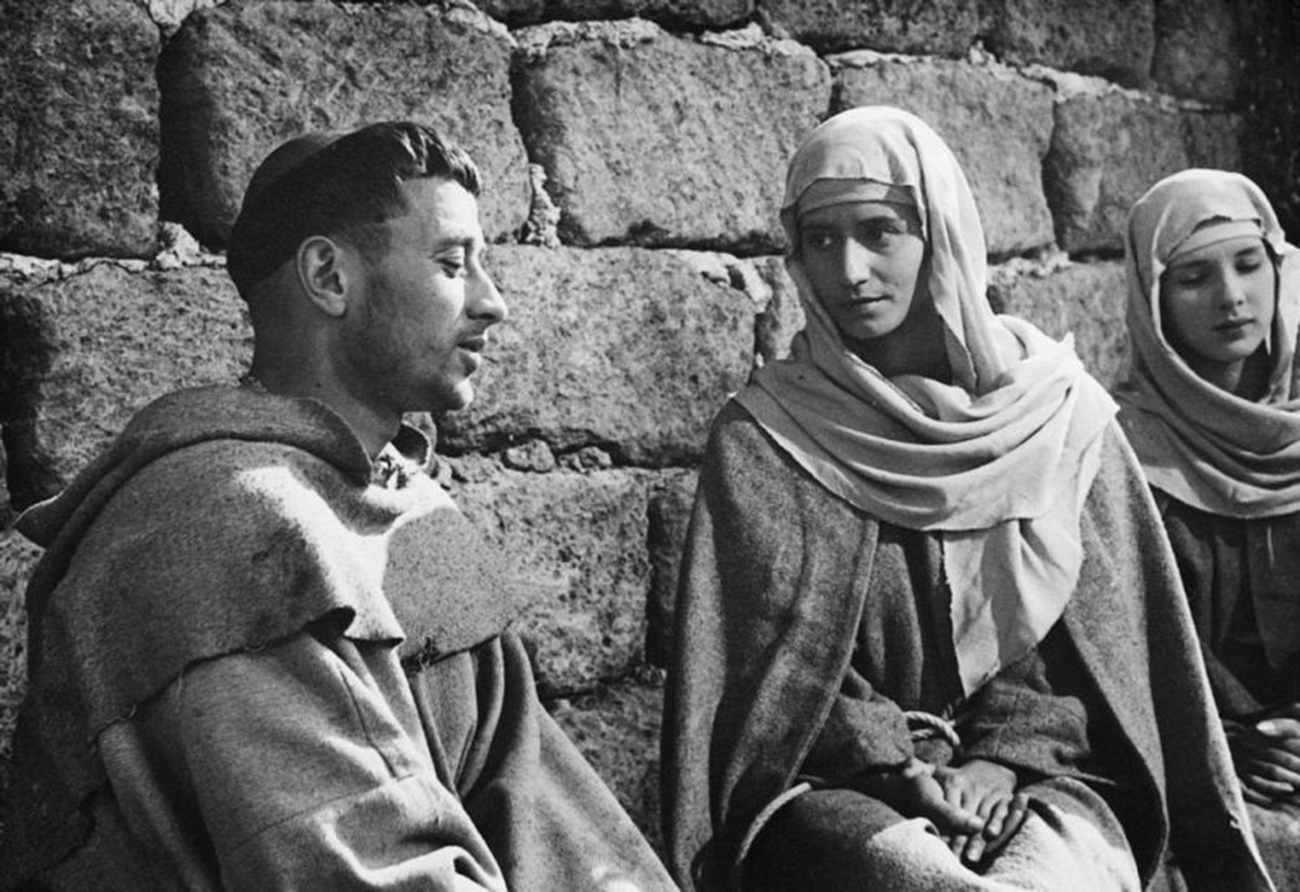 Francesco, Giullare di Dio (The Little Flowers of St. Francis). 1950. Italy. Directed by Roberto Rossellini