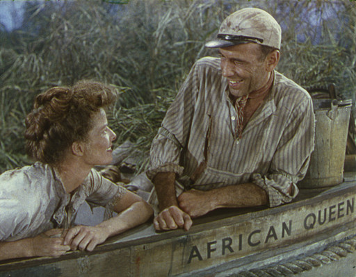 The African Queen. 1951. USA. Directed by John Huston