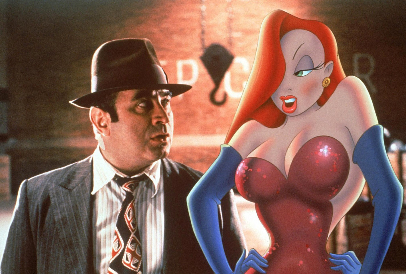 Who Framed Roger Rabbit. 1988. USA. Directed by Robert Zemeckis. Animation direction by Richard Williams