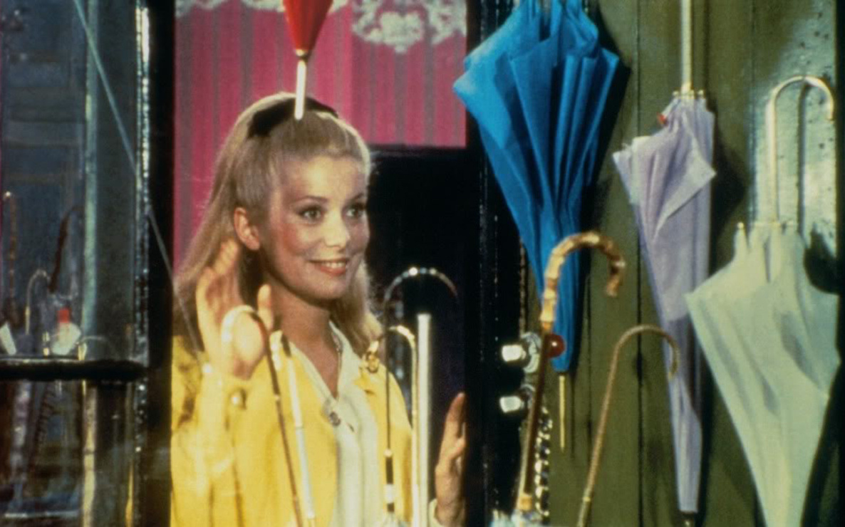 The Umbrellas of Cherbourg. 1964. France. Written and directed by Jacques Demy