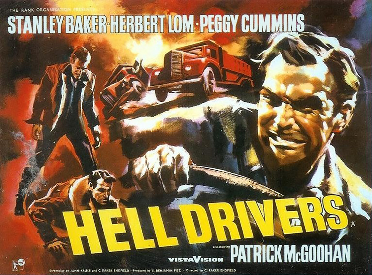 *Hell Drivers.* 1957. Great Britain. Directed by Cy Endfield