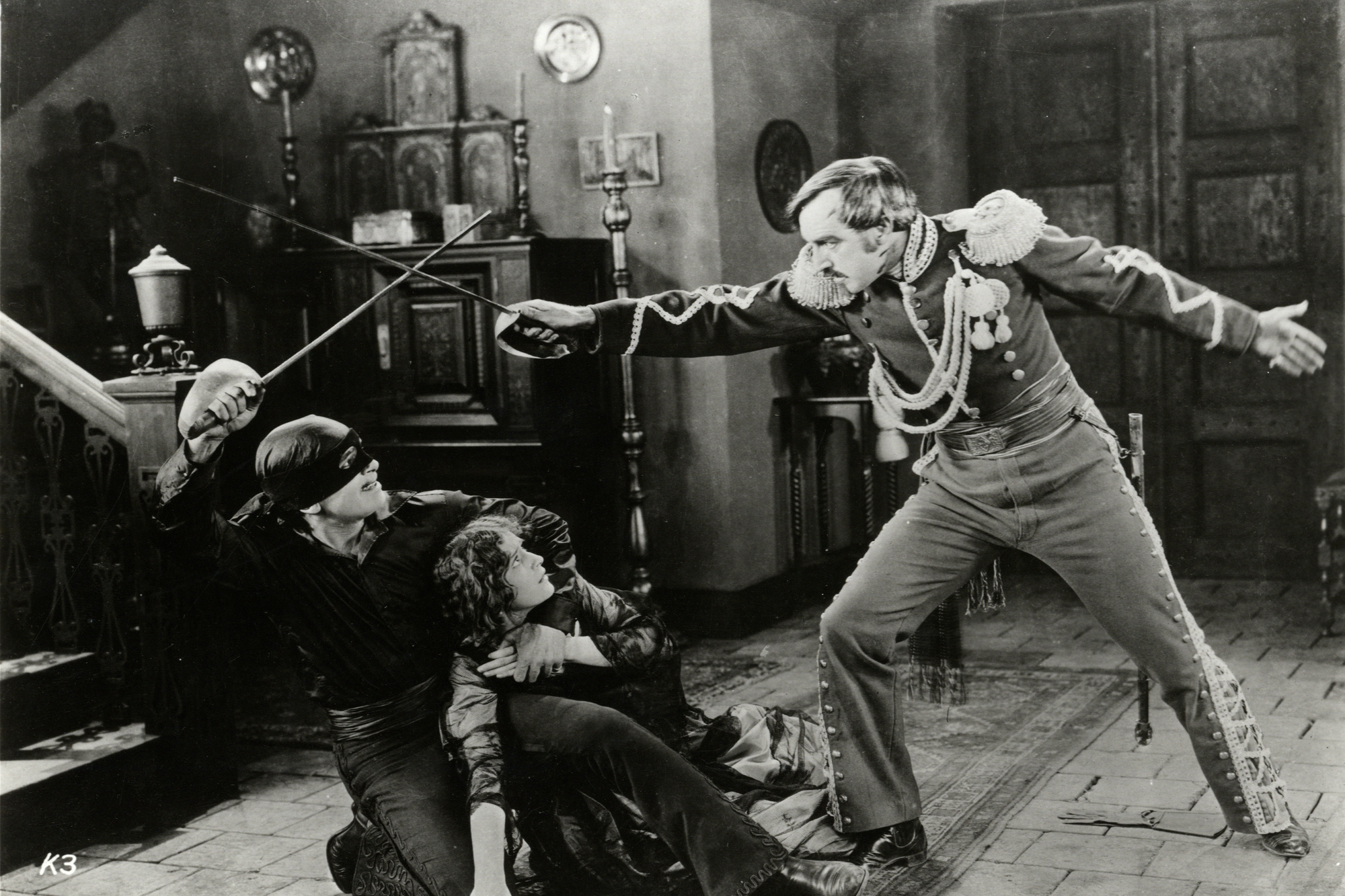 The Mark of Zorro. 1920. USA. Directed by Fred Niblo. Sessue Hayakawa/Henry Kotani Program