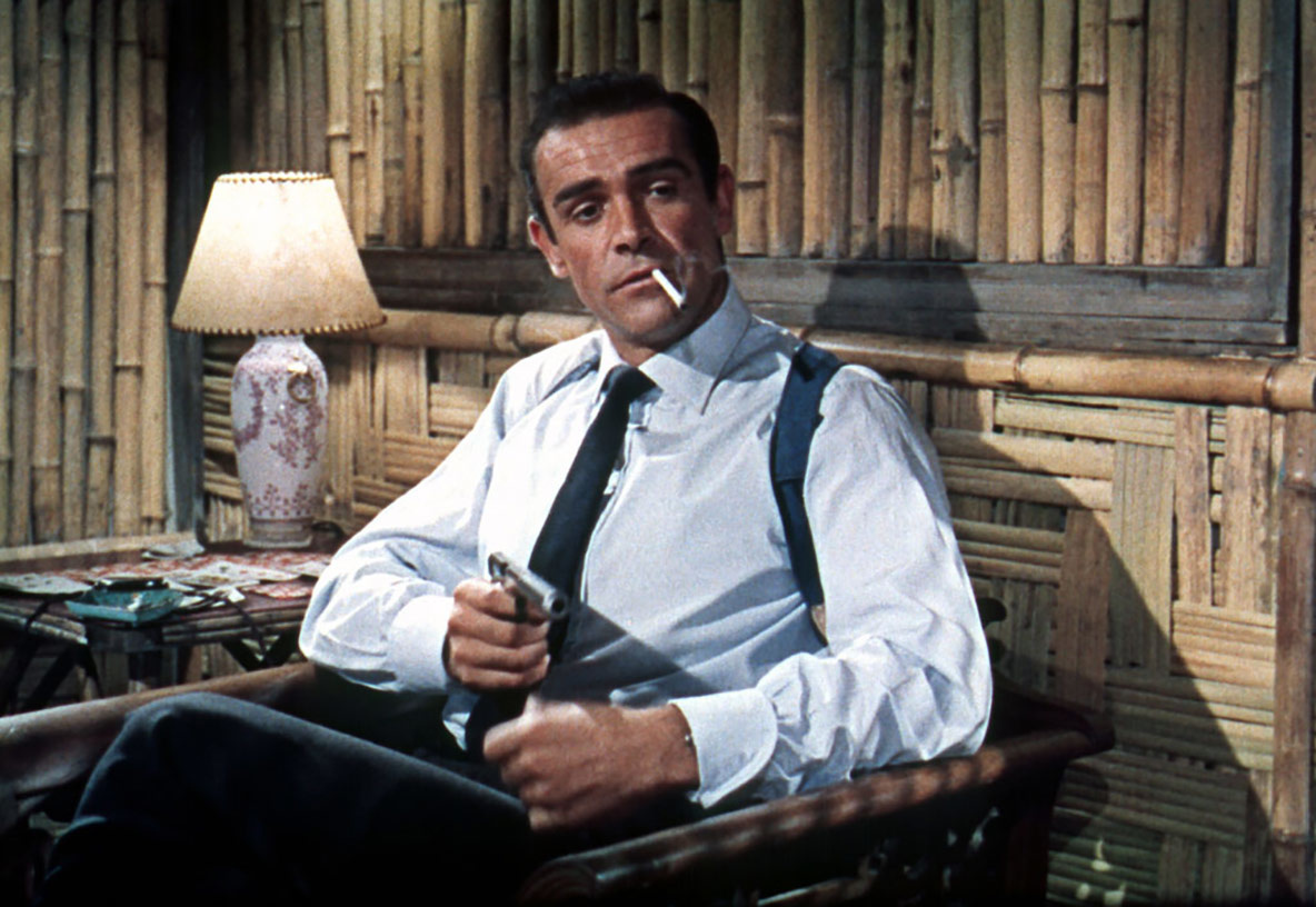 *Dr. No.* 1962. Great Britain. Directed by Terence Young. Image courtesy Photofest