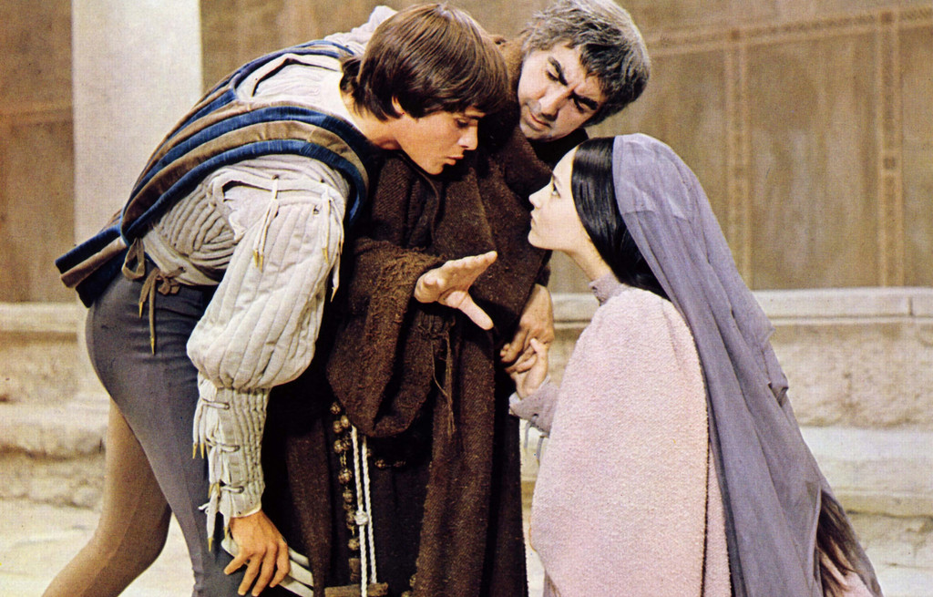 *Romeo and Juliet.* 1968. UK/Italy. Directed by Franco Zeffirelli. Courtesy Paramount Pictures/Photofest