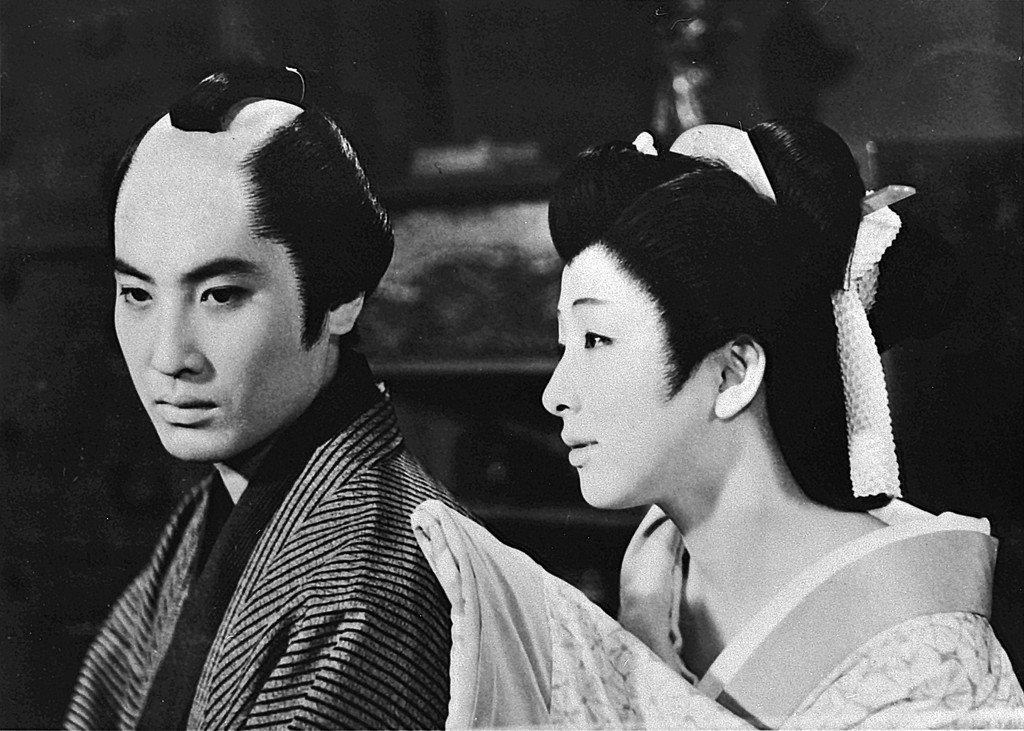 *Naniwa no koi no monogatari (Chikamatsu's Love in Osaka).* 1959. Japan. Directed by Tomu Uchida. © Toei Company, Ltd.