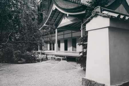Installation view of <em>Japanese Exhibition House</em> at The Museum of Modern Art, New York
