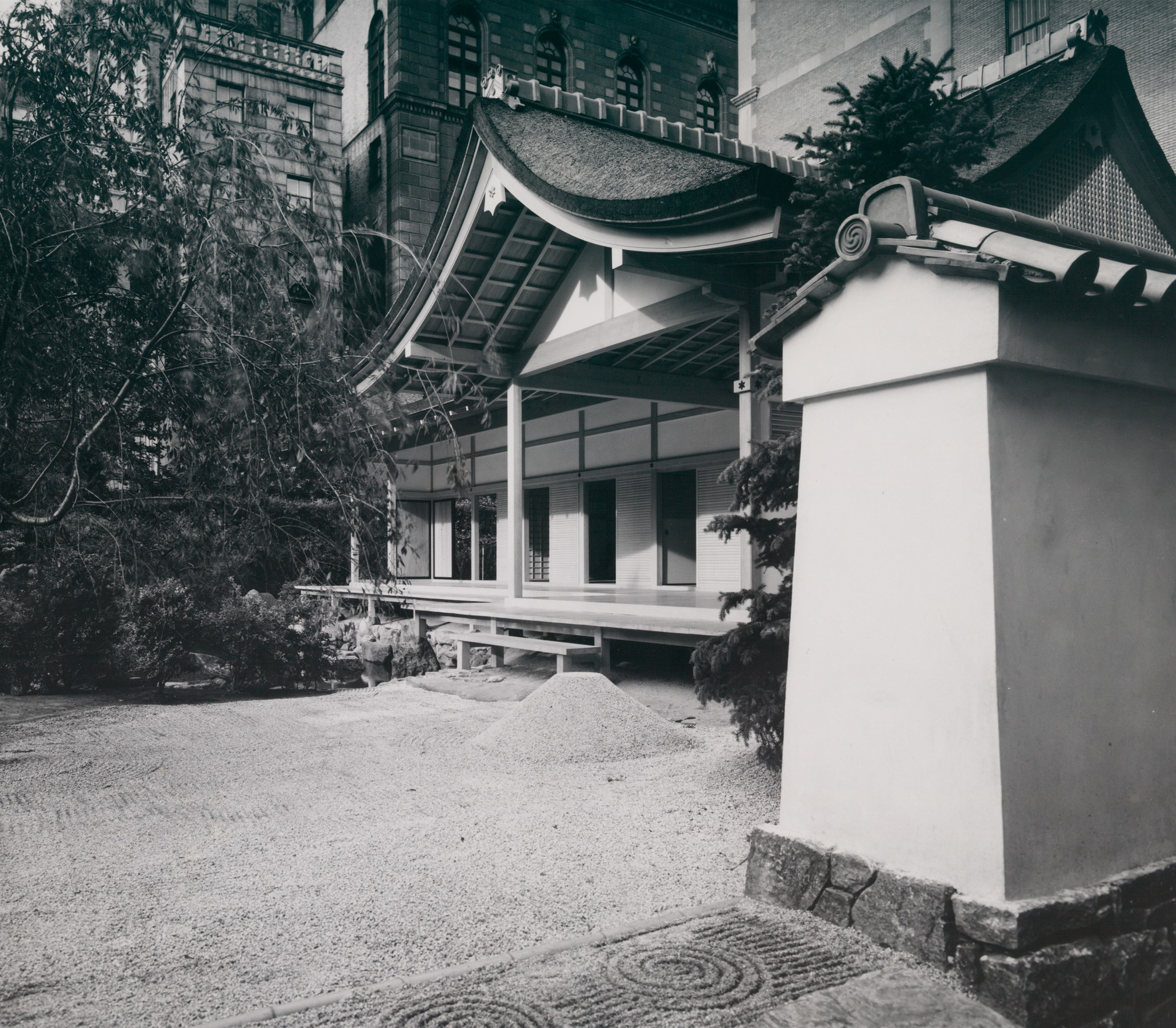 Installation view of Japanese Exhibition House at The Museum of Modern Art, New York
