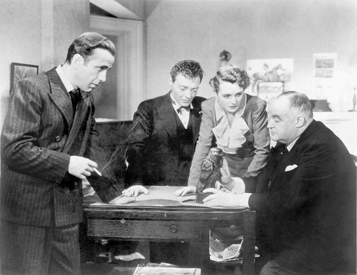 *The Maltese Falcon*. 1941. USA. Written and directed by John Huston