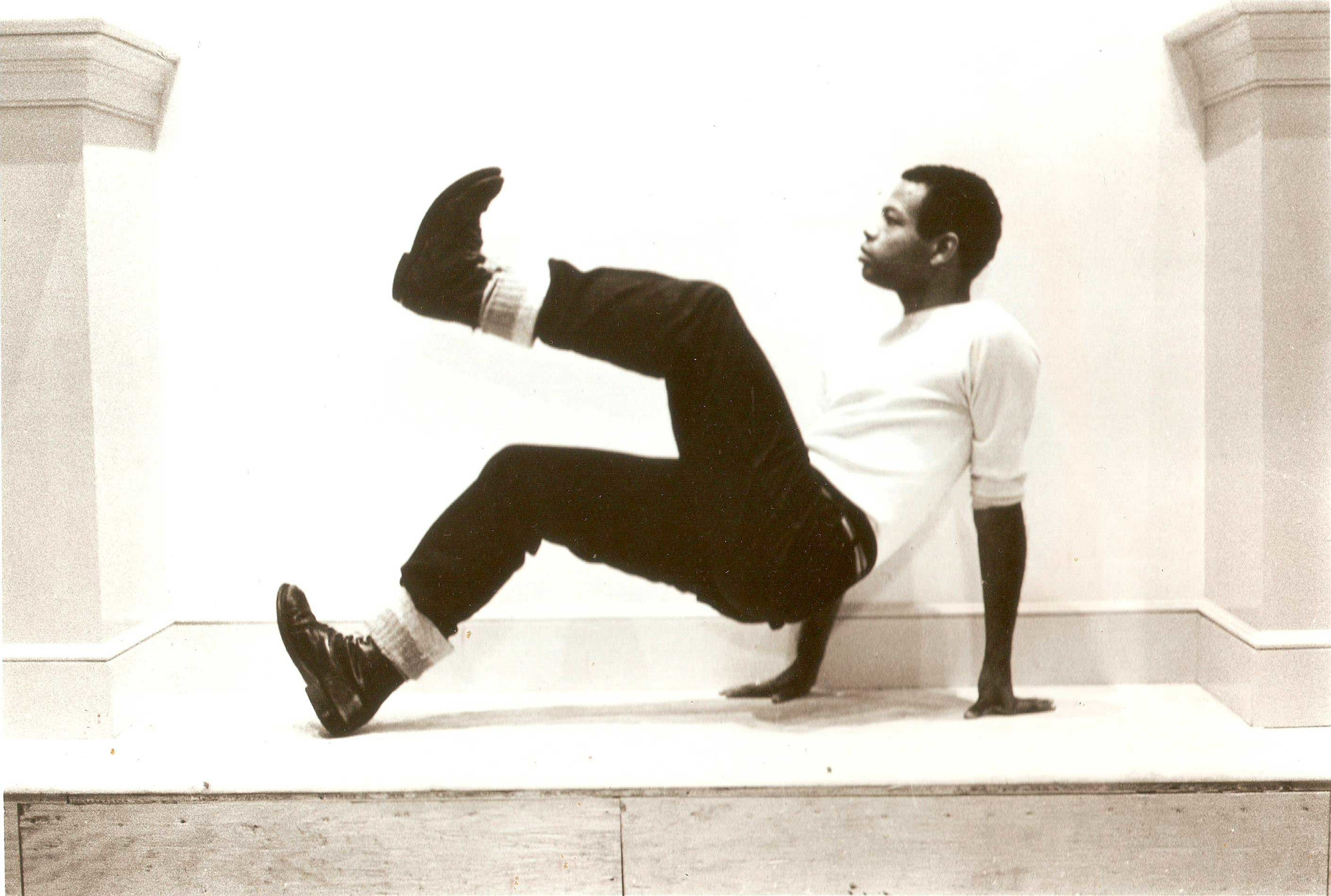 Ishmael Houston-Jones, Danspace Project, 1982. Photo: Pamela Moore