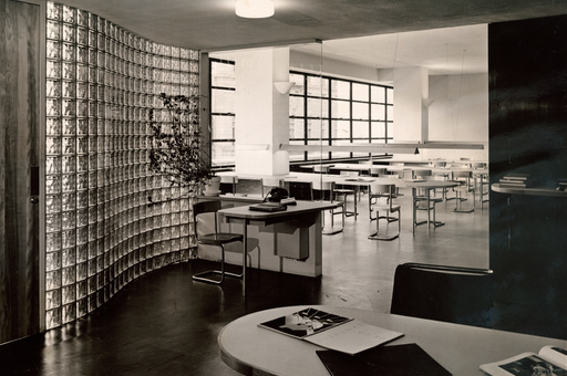Library, 1939. The Museum of Modern Art Archives. Photo: Robert Damora