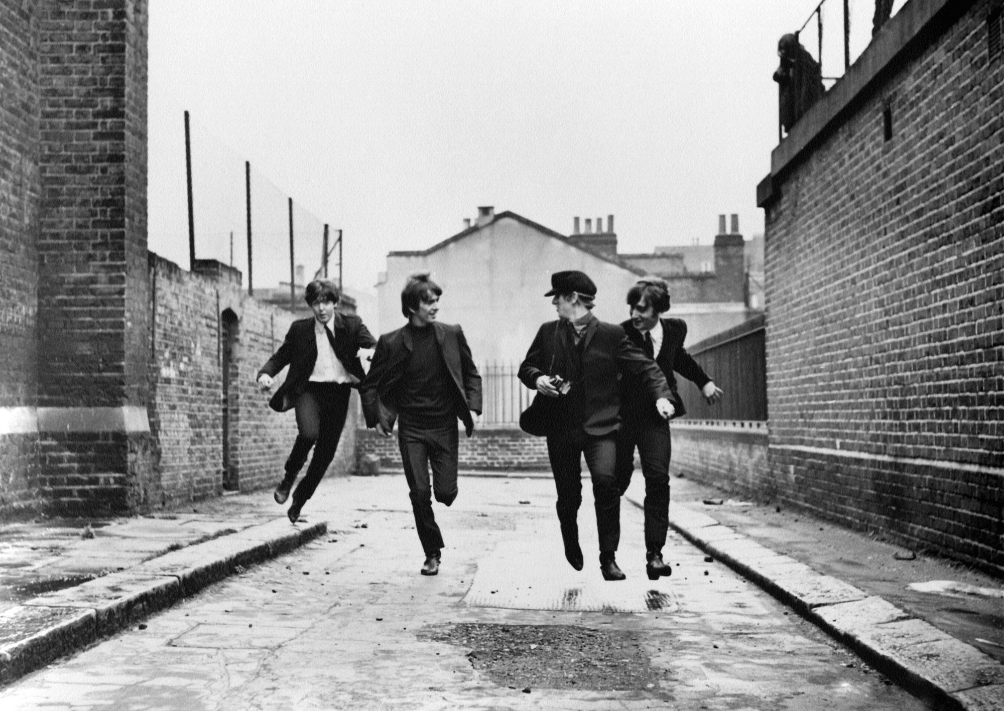 A Hard Day's Night. 1964. Great Britain. Directed by Richard Lester