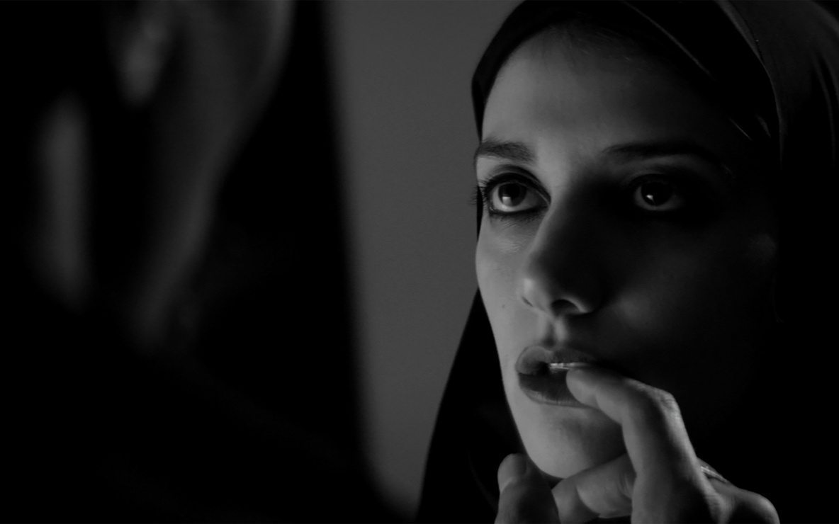 *A Girl Walks Home Alone at Night*. 2014. USA. Directed by Ana Lily Amirpour. Courtesy of Kino Lorber