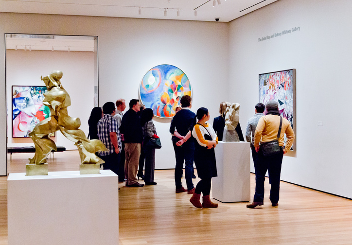 A MoMA gallery tour. Photo © Carly Gaebe/Steadfast Studio