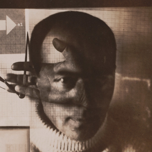 El Lissitzky. Self-Portrait (The Constructor). 1924. Gelatin silver print, 5 1/2 × 3 1/2″ (13.9 × 8.9 cm). Thomas Walther Collection. Gift of Shirley C. Burden, by exchange. © 2016 Artists Rights Society (ARS), New York/VG Bild-Kunst, Bonn