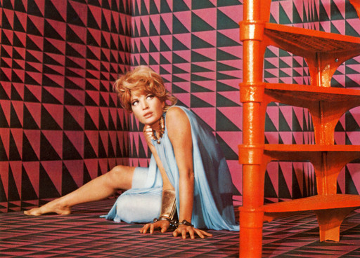 Modesty Blaise. 1966. Great Britain. Directed by Joseph Losey. Photo courtesy of Photofest