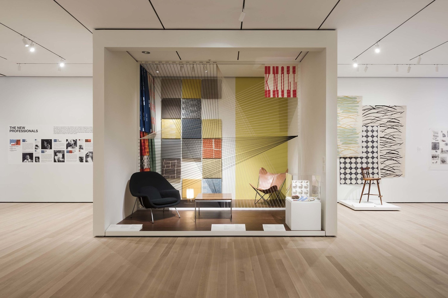 Installation view of How Should We Live? Propositions for the Modern Interior, The Museum of Modern Art, New York, October 1, 2016–April 23, 2017. © 2016 The Museum of Modern Art. Photo: Martin Seck