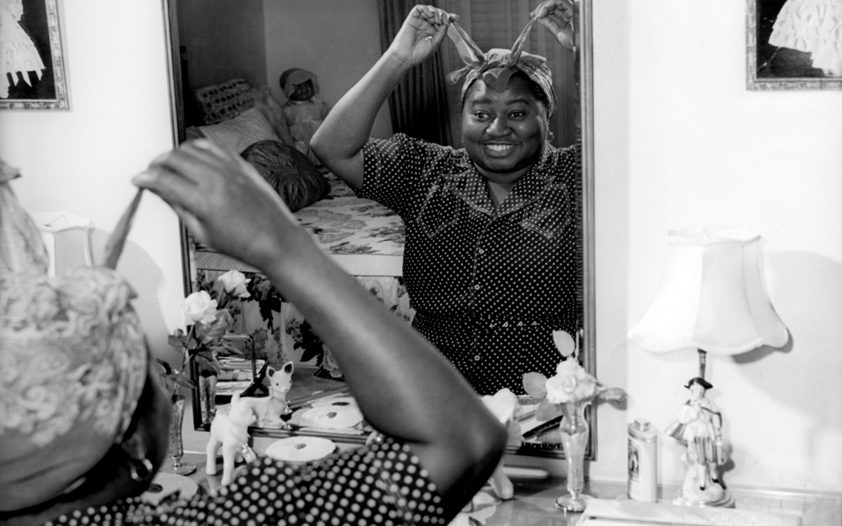 Publicity image of Hattie McDaniel, 1930s–40s. Film Study Center Special Collections, The Museum of Modern Art