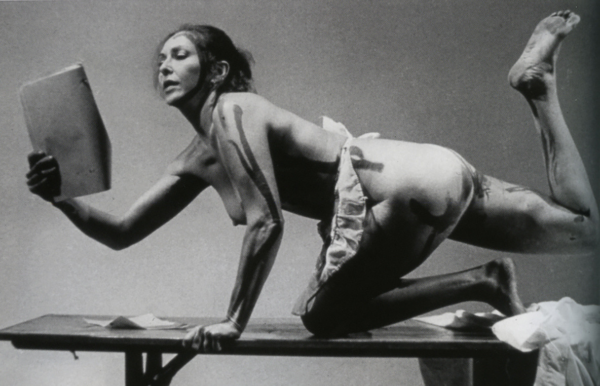 ¡Women Art Revolution: A Secret History (shown: Carolee Schneemann performs Interior Scroll). 2010. USA. Directed by Lynn Hershman Leeson