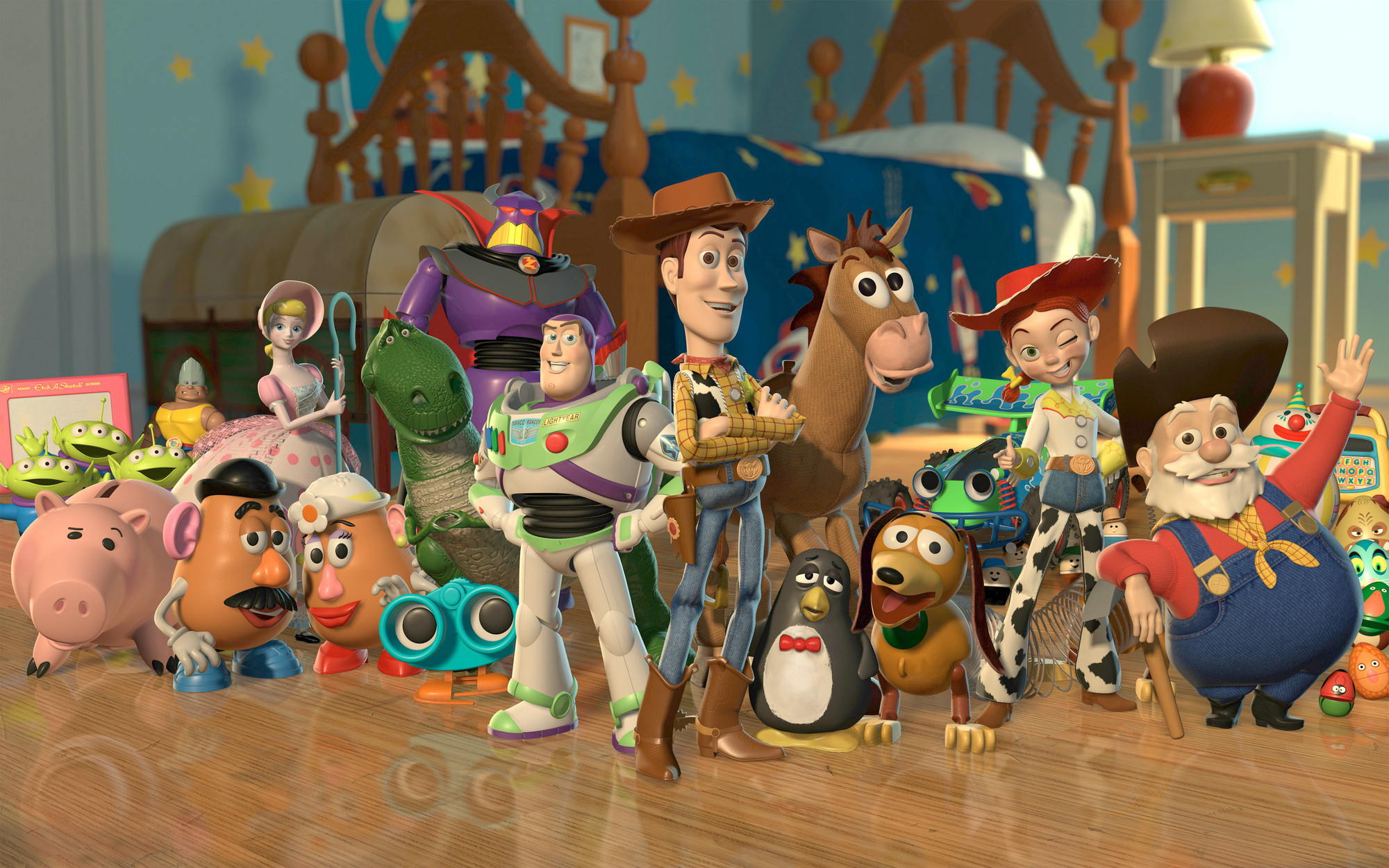 Toy Story 2. 1999. USA. Directed by John Lasseter