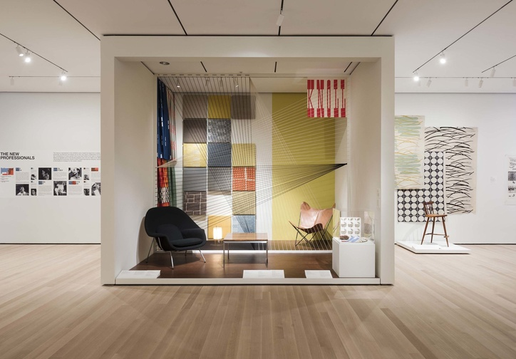 Installation view of How Should We Live? Propositions for the Modern Interior. The Museum of Modern Art, New York, October 1, 2016–April 23, 2017. © 2016 The Museum of Modern Art. Photo: Martin Seck
