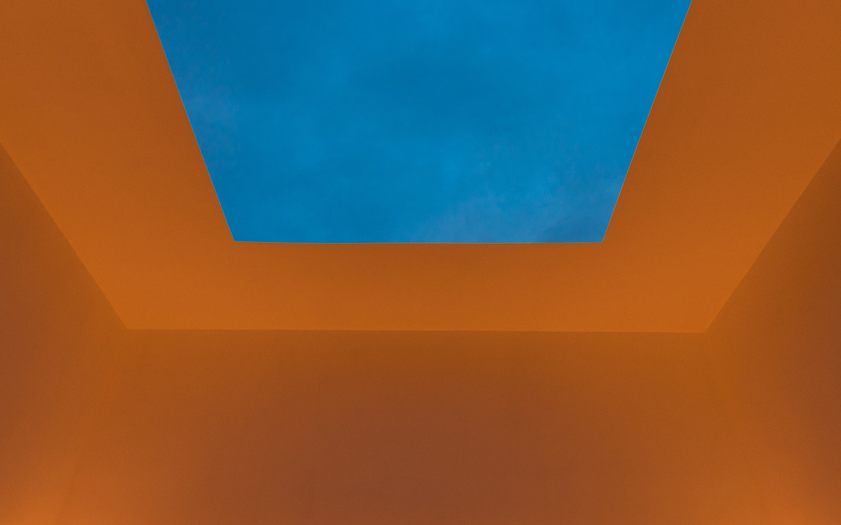 James Turrell. *Meeting.* 1980–86/2016. Light and space. The Museum of Modern Art, New York. Gift of Mark and Lauren Booth in honor of the 40th anniversary of MoMA PS1. Photo: Pablo Enriquez