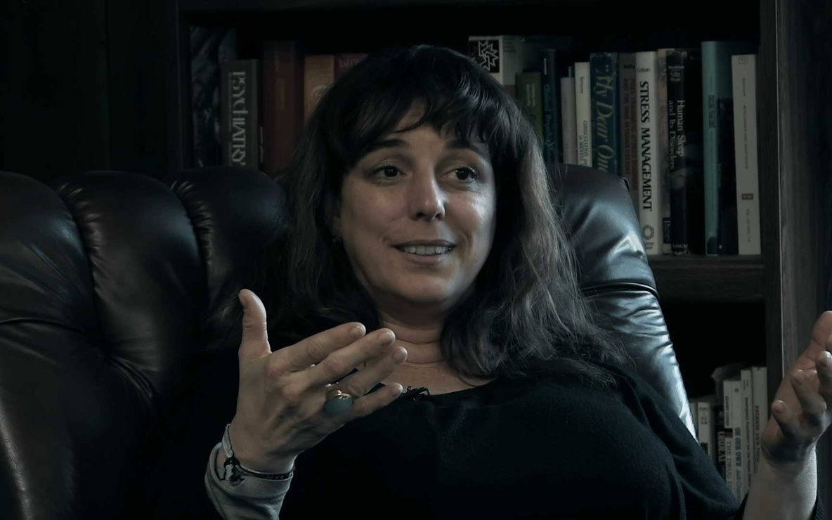 Tania Bruguera in *Tania Libre.* 2016. USA. Directed by Lynn Hershman Leeson. Courtesy of the filmmaker