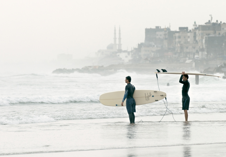 Gaza Surf Club. 2016. Germany. Directed by Philip Gnadt, Mickey Yamine. Courtesy of Little Bridge Pictures