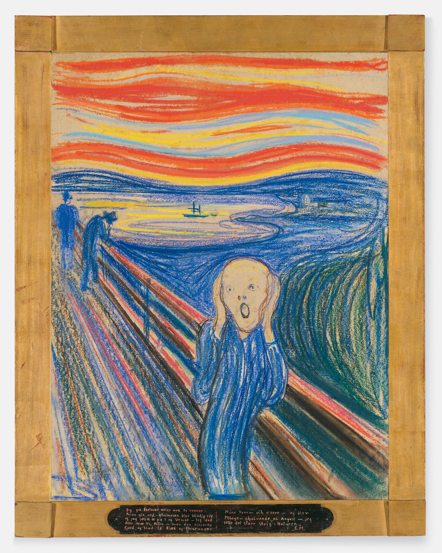 Edvard Munch. The Scream. Pastel on board. 1895. © 2012 The Munch Museum/The Munch-Ellingsen Group/Artists Rights Society (ARS), New York