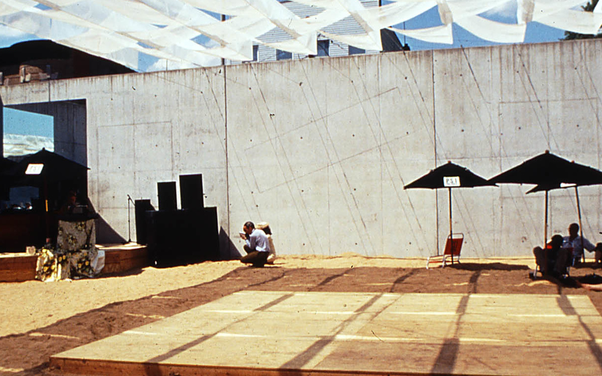 SHoP. Dunescape. 2000. Young Architects Program 2000, MoMA PS1, New York, winner