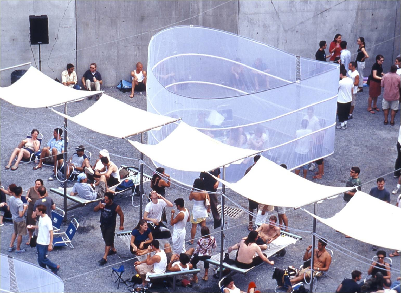 ROY. subWave. 2001. Young Architects Program 2001, MoMA PS1, New York, winner