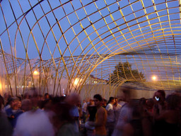 nARCHITECTS. Canopy. 2004. Young Architects Program 2004, MoMA PS1, New York, winner