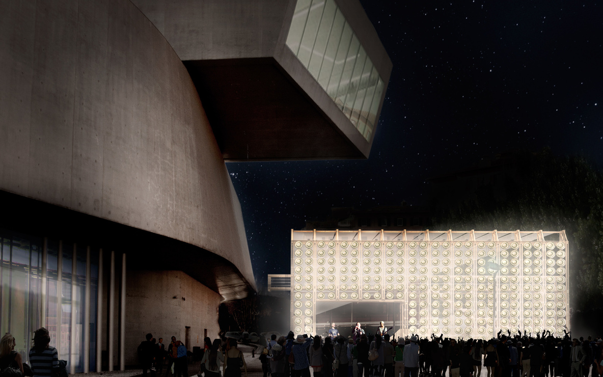 orrizzontale. 8 1/2. 2014. Young Architects Program 2014, MAXXI, Rome