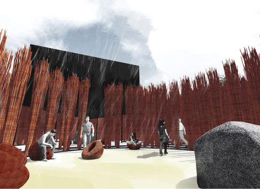 Grupo Talca. Wicker Forest. 2014. Young Architects Program 2014, CONSTRUCTO, Santiago, winner