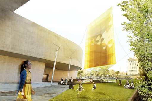 bam! bottega di architettura metropolitana. He. 2013. Young Architects Program 2013, MAXXI, Rome, winner