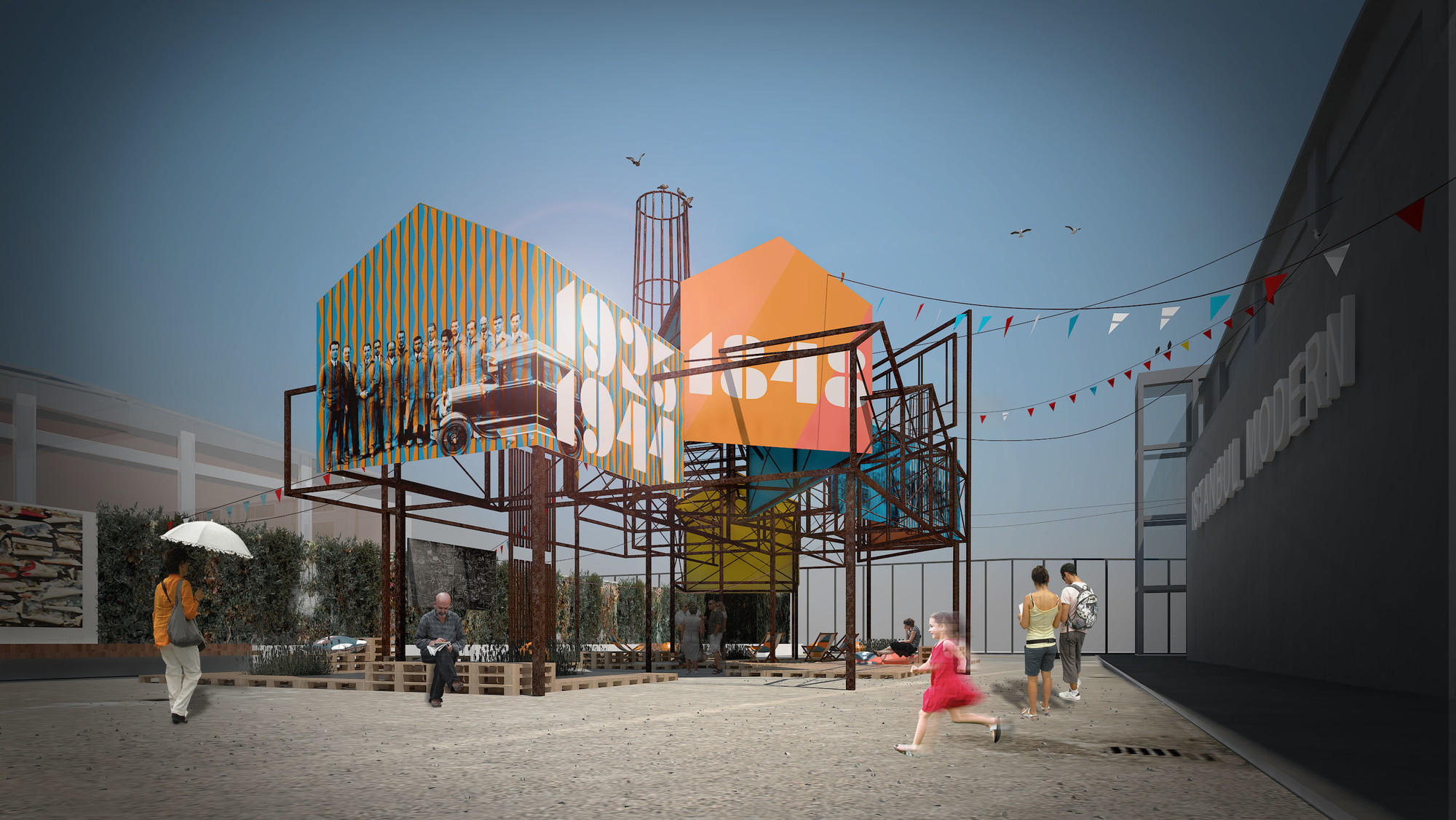 PATTU. ALL THAT IS SOLID. 2015. Young Architects Program 2015, Istanbul Modern, winner